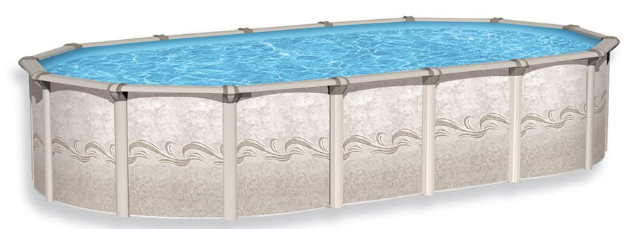 52 inch oval swimming pool