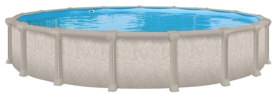 oval 52 inch swimming pool